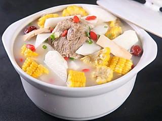 炊烟食客的大补汤玉米山药煲排骨