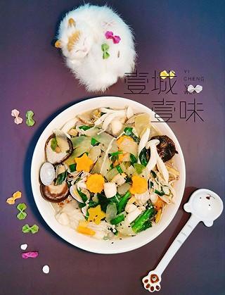策马苍穹的冬瓜花蛤汤 轻身养颜暖心暖胃 姊妹们一起来爱上它吧