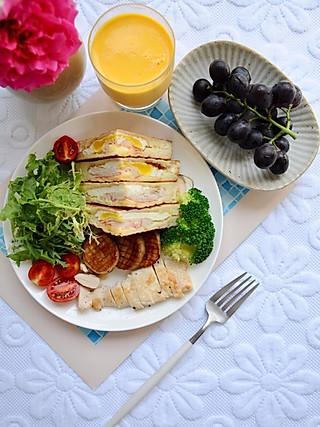 椛吃的好好吃一顿早餐, 当胃顺当了 生活也会变得更好~