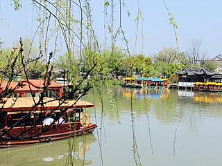 萍儿之日常的江南水乡,小桥流水~扬州瘦西湖