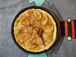 茱莉娅的视界的爱心甜点:苹果派