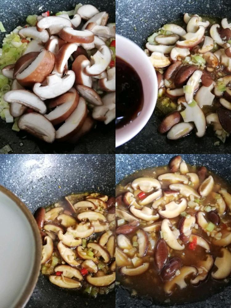香菇炒油菜,简单易做,味道鲜美图5
