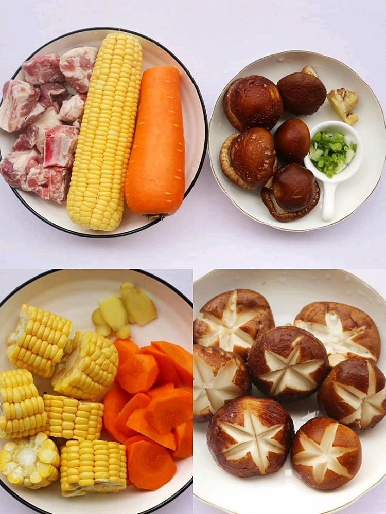 连喝三碗都不够🔥香菇玉米胡萝卜排骨汤😋 营养健康又鲜美‼图4