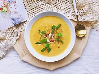 清汤_挂面-创意料理组的深秋暖汤—板栗南瓜浓汤, 天冷啦一碗暖暖的浓汤太温暖了