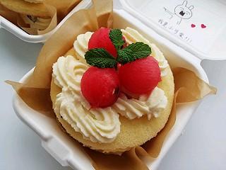 米粒爱奇异果的网红便当奶油盒子蛋糕🍰