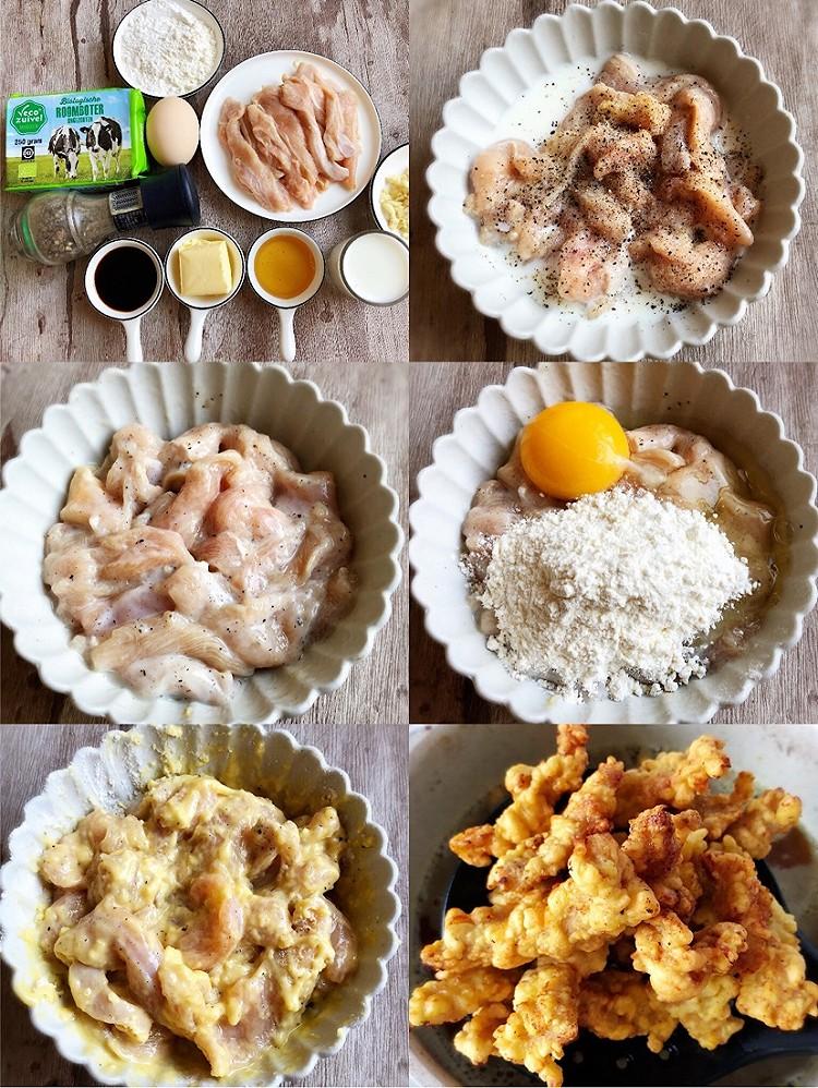 全网最火🔥外皮香酥的蜂蜜黄油炸鸡‼️好吃到舔手指(含配方)图4