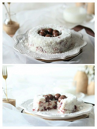 imCc_v5的💯☞蔓越莓奶冻,和娃一起制作夏季必清凉美食