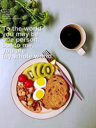 罗勒酱的来份能量早餐来抵御寒冬的七级大风吧❤️