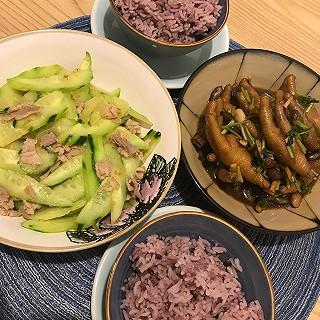 涩涩的紫苏很完美的今日晚餐