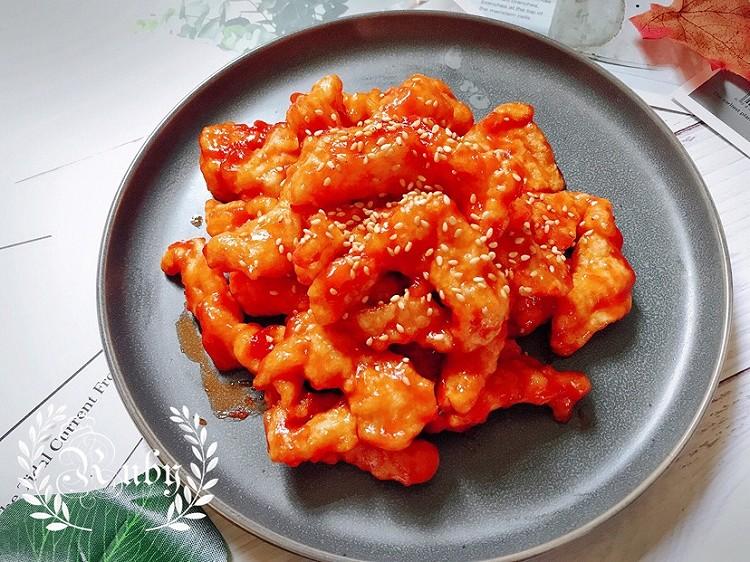 0脂肪的意大利进口优选浓缩番茄膏做的糖醋巴沙鱼图4