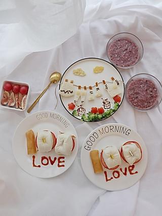 乔妃記的挑战100道创意儿童餐【第26道】爱你们💯分