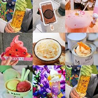 紫萝兰的除了椰子灰还有更奇葩的!2018奇葩冰淇淋了解一下!