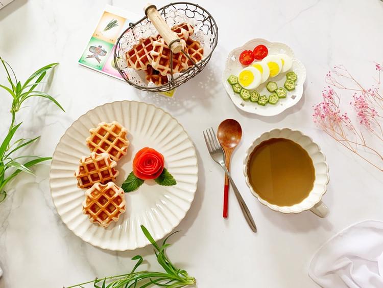 一份精致的早餐让雨天也变得韵味十足图1