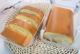 A千彩绘--刘老师的匆忙中做了1卷榴莲蛋糕卷,好吃到爆