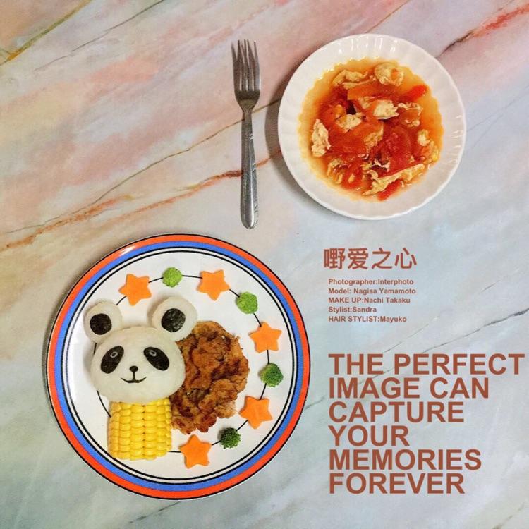 🐷超可爱的自制卡通饭团 让小朋友从此爱上吃饭图2