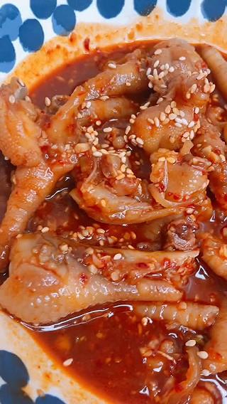 大白李泽玉的韩式辣鸡爪