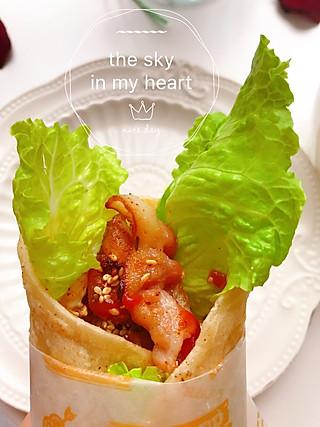 嗳磊小曦的自制好吃的手抓饼,想吃就做起来~