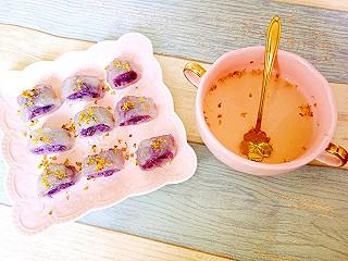 铿锵玫瑰甜甜妈妈的水晶紫薯卷