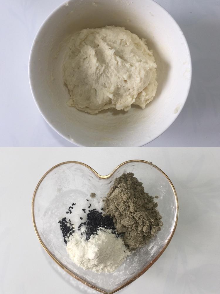 土豆黑芝麻糖饼,口感Q弹超级好吃图6