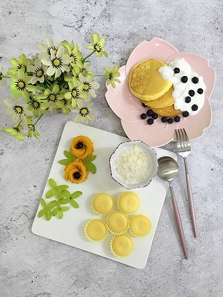 麻麻爱玮玮的舒芙蕾松饼,迷你小蛋糕