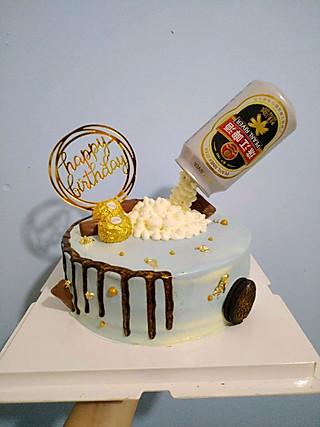 储存恩恩的美食d小角落的珠江啤酒蛋糕