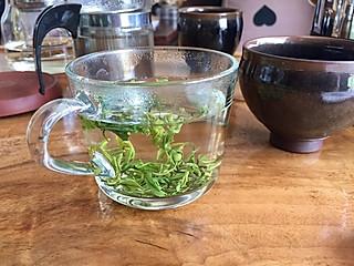 媚娘米酒的绿茶冲泡