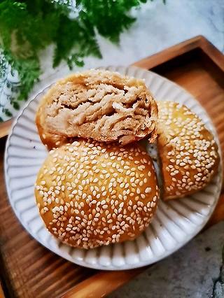 豆粉120785的老北京麻酱烧饼
