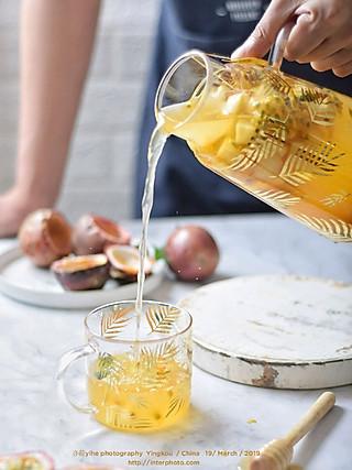 来一壶百香果水果茶