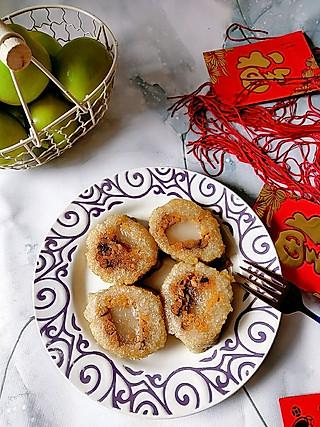 Idun我爱玫瑰的大年初三早餐之香煎粽子