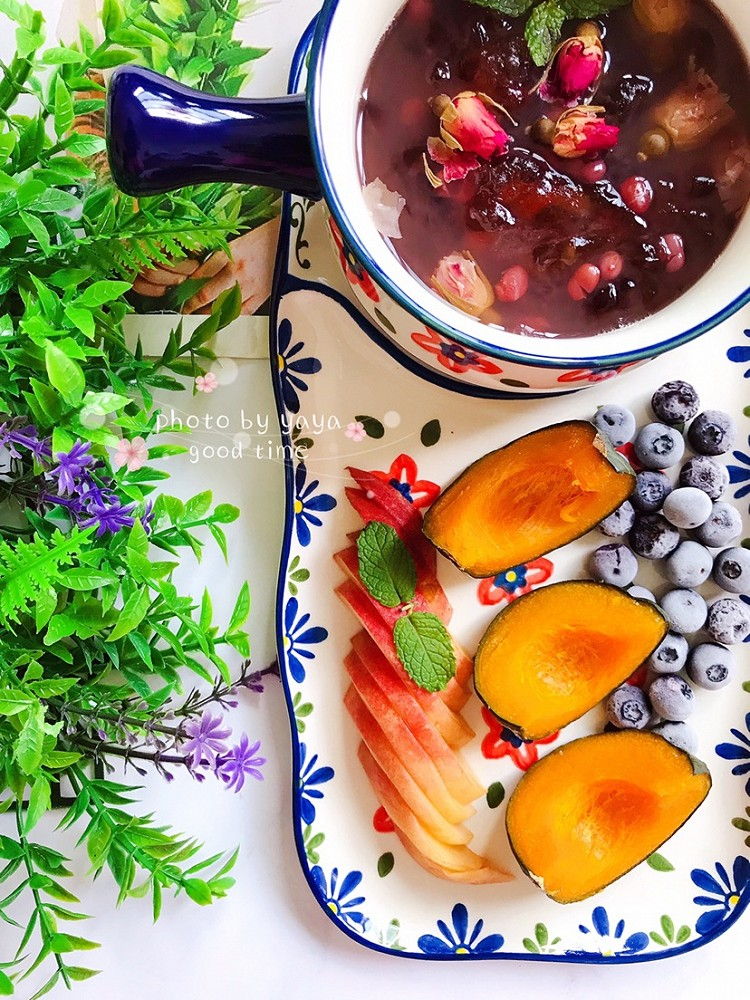 女生秋季要滋润,越吃越美的玫瑰花🌹桃胶红豆汤吃起来✌🏻️图3