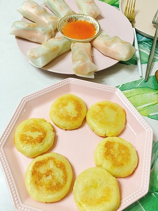 linglingxixi的吃到幸福的滋味的一款,心太软~土豆小饼