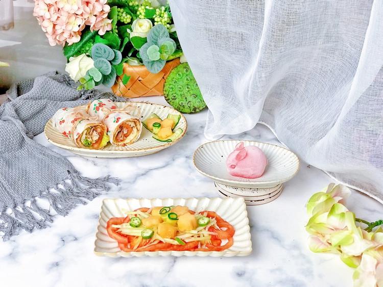 轻食早餐㊙️鸡肉时蔬卷饼🔥时蔬哈密瓜沙拉🥗图6