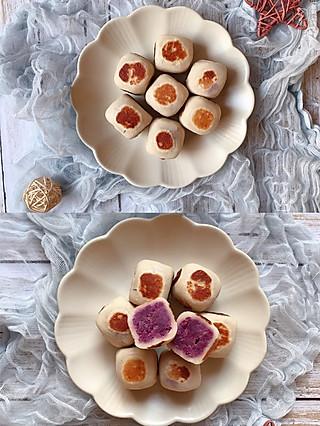 nana的美食日记的🌸100道减肥餐,第4道👉低脂仙豆糕⚠️不刷油小火煎哦‼️