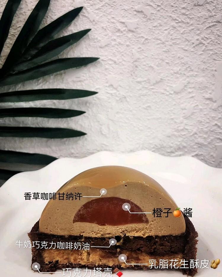🍫花生咖啡巧克力香橙塔图3