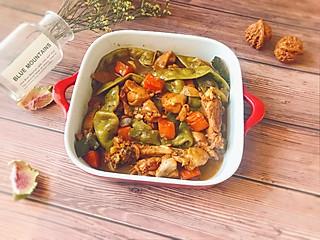 甜心Linda创意料理组的㊙️这样做怕是你家米饭不够吃--小鸡炖宽豆角