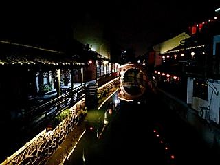蓝洛凌的夜游古镇