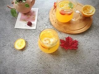 石头妈1的橙汁柠檬饮