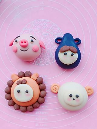 Byu_98的水瓶座♒️,狮子座♌️,白羊座♈️and小猪🐷