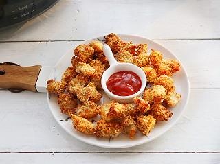 海风的韵味的想吃鸡米花不用买,自制无油鸡米花,健康又方便