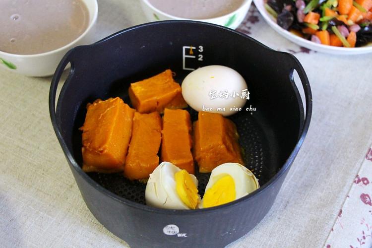 【宝妈小厨早餐日记】营养蒸+配炒饭米糊++拌菜图2