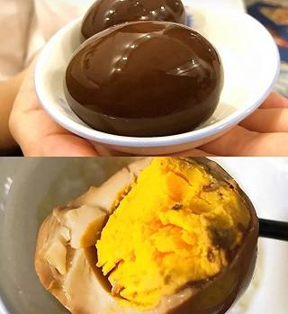 闪闪家的小宝的【㊙️🤤1️⃣分钟学会的可乐卤蛋,超简单超好吃😍😍😍😍】