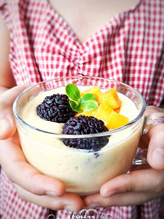沙小囡的芒果黑糯米甜甜——夏日里的清凉甜意