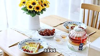 流浪的喵喵小姐的喵の早餐 | 浪漫法式双人早餐~