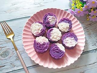 铿锵玫瑰甜甜妈妈的好吃的紫薯山药泥