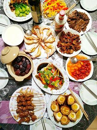 相寓天津的2020年夜饭