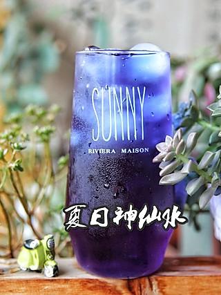 🔥高颜值✨减肥也能喝的饮料,深蓝神仙水