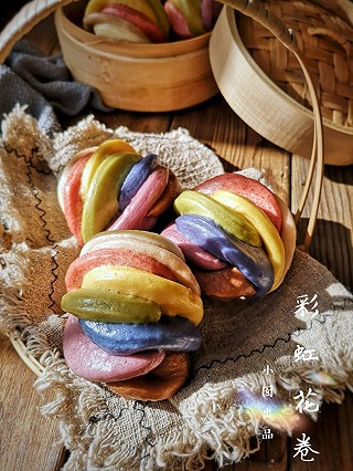 沙小囡的彩虹花卷