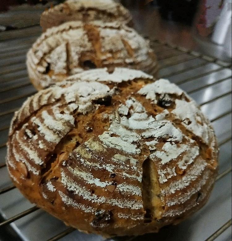 一个能颠覆你味蕾的粗糙大汉面包~杂粮乡村图2