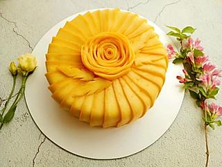 清露风荷的芒果蛋糕,果香与奶油甜蜜组合