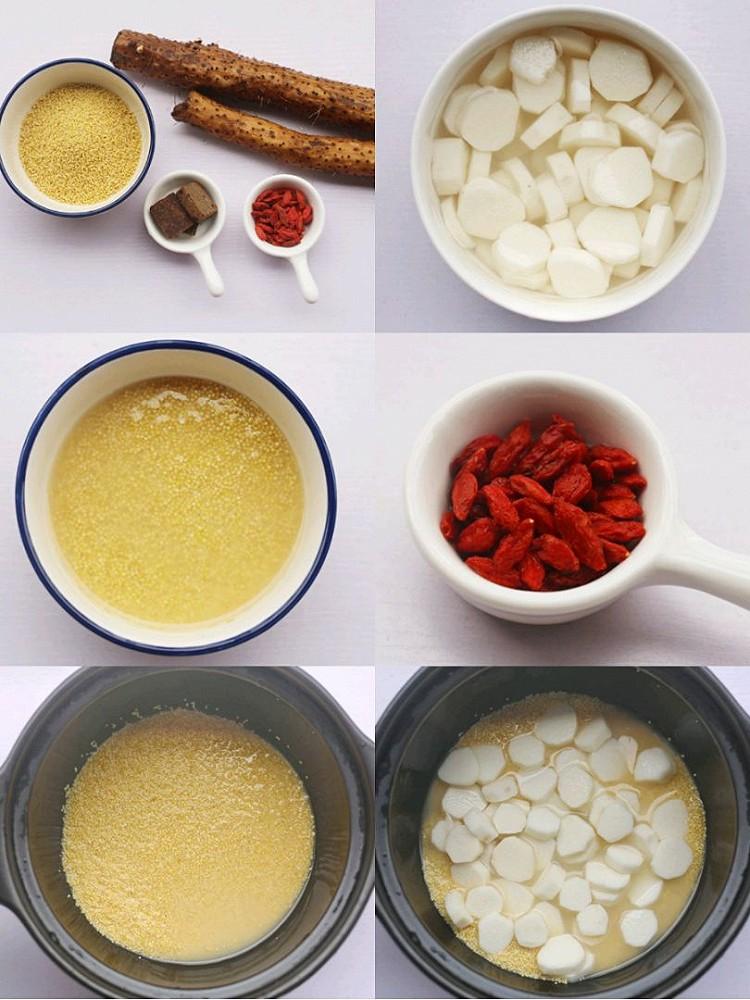 ⭕️健脾养胃 营养又好喝的小米山药粥🔥秋季记得常喝它‼️图2